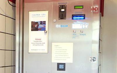 Automat Milchzapfstelle